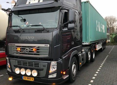 Container transport laten uitvoeren